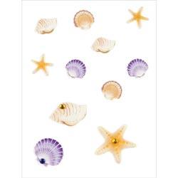 Bulk Buy: Jolee's (6-Pack) Boutique Dimensional Embellishments 11/Pkg Mini Seashells E5000458