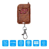 433Mhz 4 Buttons Copy Cloning Duplicator Remote Control Transmitter Switch for Garage Opener Electric Garage Door Remote Control Key Fob