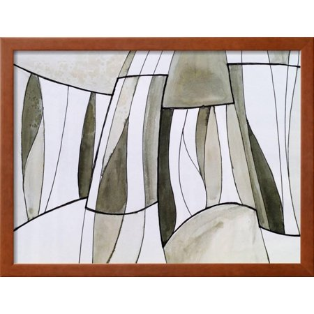 A Study for an Abstract Painting Framed Print Wall Art By clivewa ...