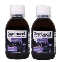 Vitamins & Supplements: Sambucol Black Elderberry Syrup
