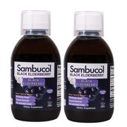 Sambucol Black Elderberry Syrup Original Formula 7.8 Ounce 2 Pack