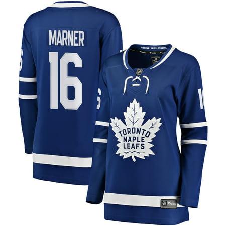 (Mitchell Marner Toronto Maple Leafs Fanatics Branded Women's Breakaway Player Jersey - Blue)