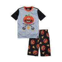 Fortnite Boys Exclusive 8-16 Short Sleeve 2-Piece Pajama Set