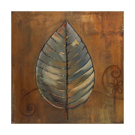 New Leaf III (Copper) Print Wall Art By Patricia - Copper Leaves
