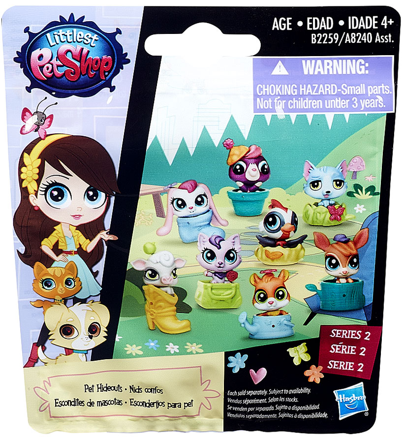 Littlest Pet Shop 2015 Series 2 Mystery Pack [Pet Hideouts]
