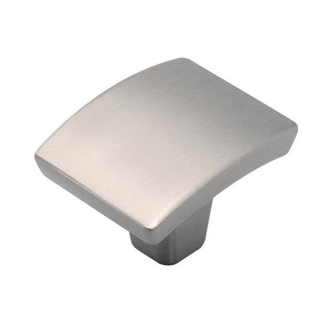 Hickory Hardware P3123-SN Rotterdam Knob - Satin Nickel, 1.37 in. x 1.12 in. Square - image 1 de 1
