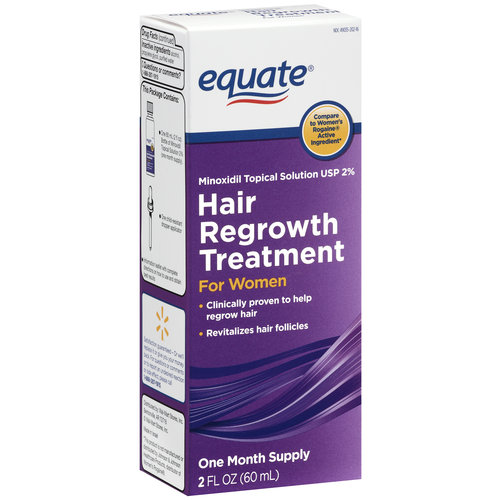 Equate Hair Regrowth Topical Solution for Women, 2 oz