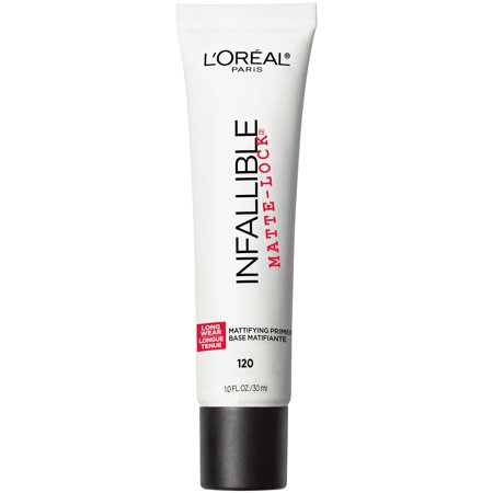 L'Oreal Paris Infallible Pro Matte Lock Face Makeup Primer, 1 fl. oz.