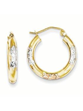 5696d41b12a0b Gold Earring Hoop Womens Jewelry & Watches - Walmart.com