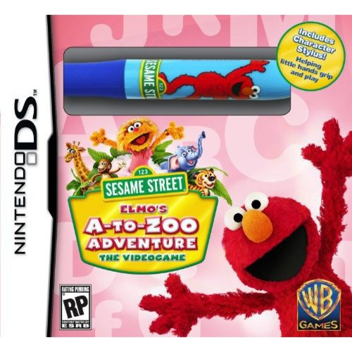 Sesame Street: Elmo's A-to-Zoo Adventure (DS)
