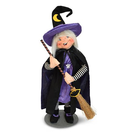 Annalee Dolls 17in 2018 Halloween Good Witch Plush New with Tags - Witch Staff