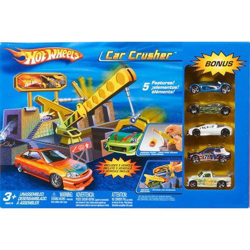 Hot Wheels Car Crusher Playset by Mattel