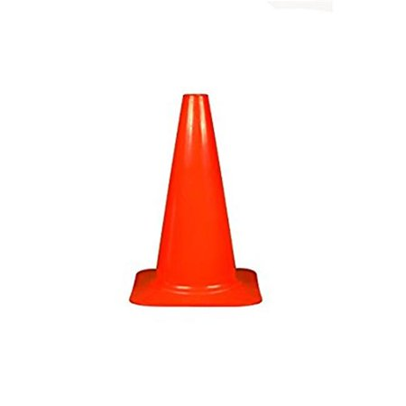 Everrich Evb 0091 9 In  Height Plastic Cone  Red
