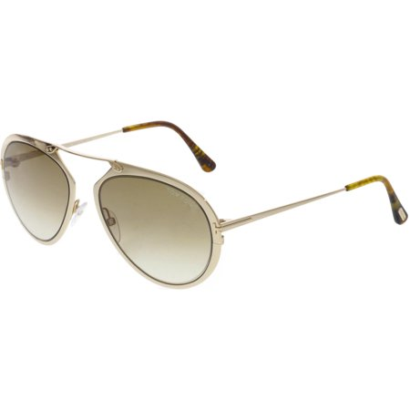 Tom Ford Gradient Dashel FT0508-28F-55 Gold Sunglass - image 3 of 3