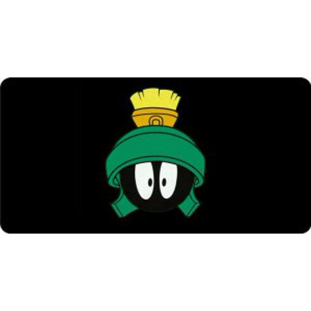Marvin The Martian Head Centered Photo License Plate](Marvin The Martian)