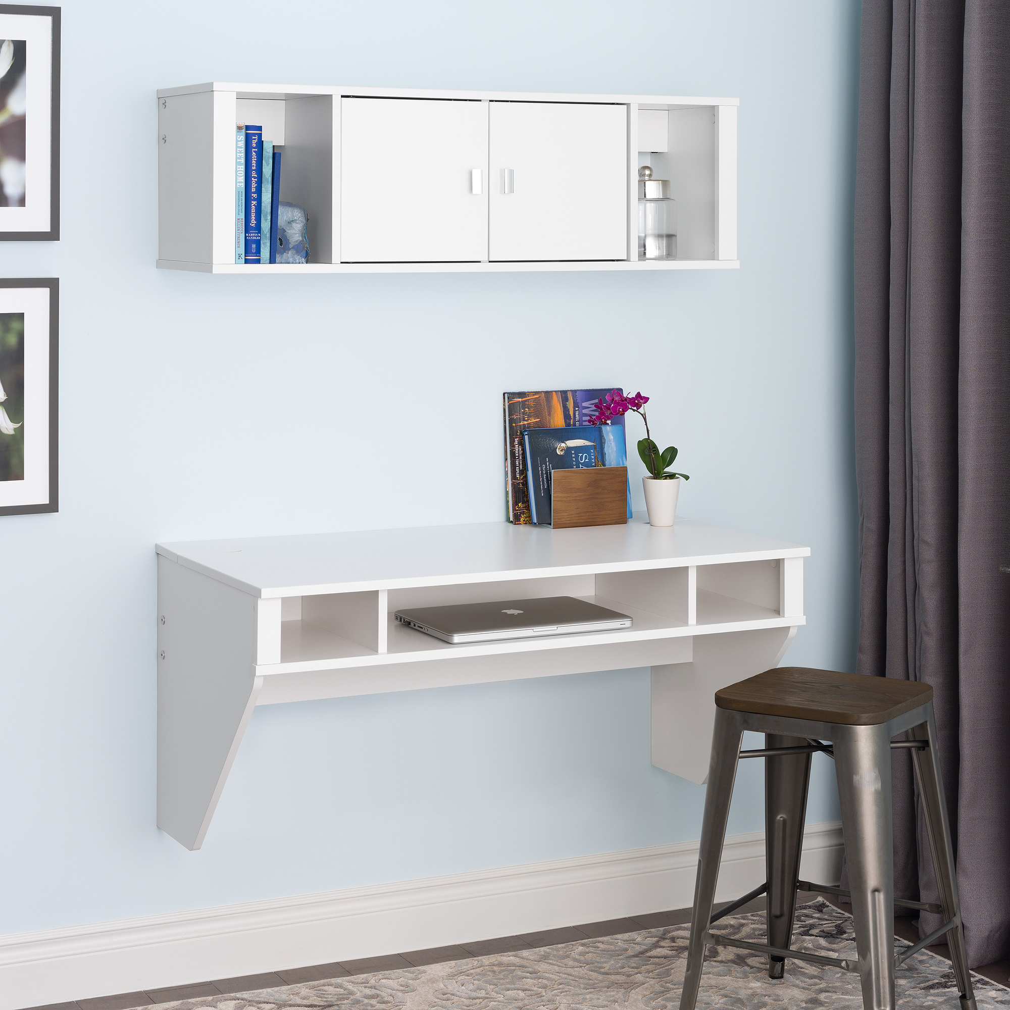 Wall mounted computer table designs - Wall Mounted Computer Table Designs 37