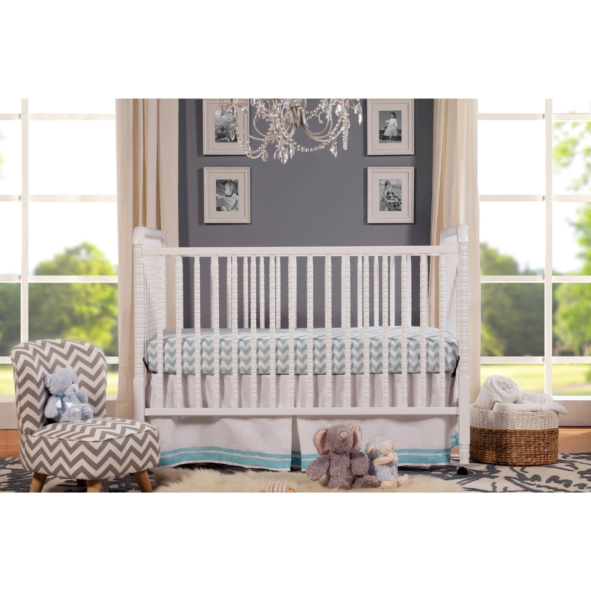 Davinci Jenny Lind Stationary Crib, Choose Your Finish  Walmart