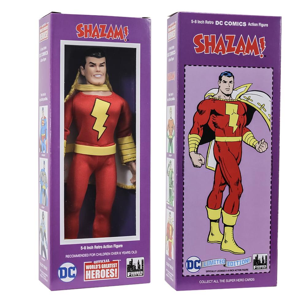 DC Comics Boxed 8 Inch Action Figures: Shazam (Shazam Series Sculpt)