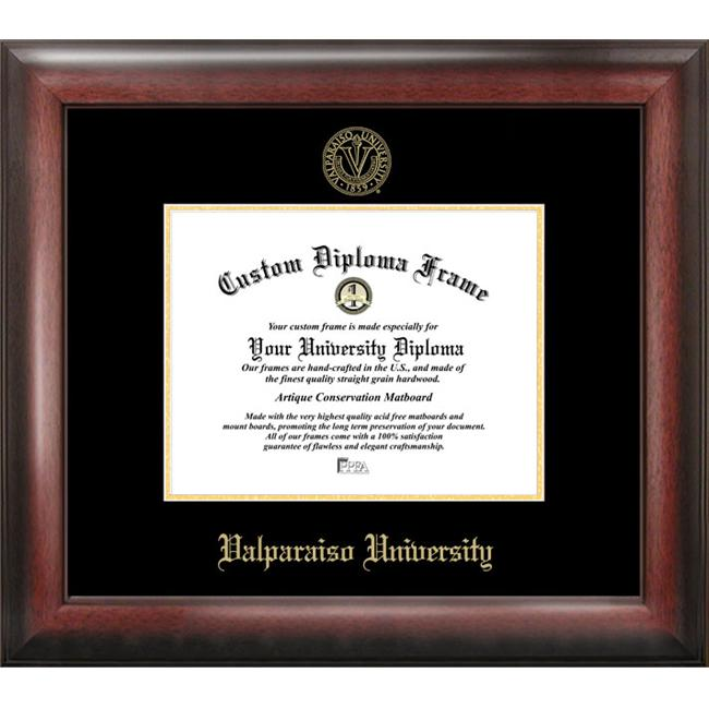 Valparaiso University Gold Embossed Diploma Frame