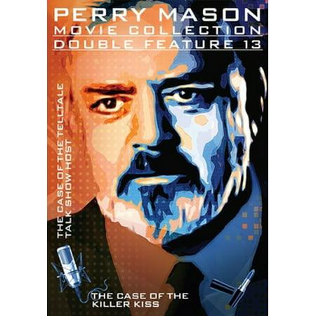 Perry Mason Double Feature: Case Of The Telltale Talk Show Host / Killer Kiss (DVD)