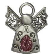 Breast Cancer Awareness Pink Angel Pin