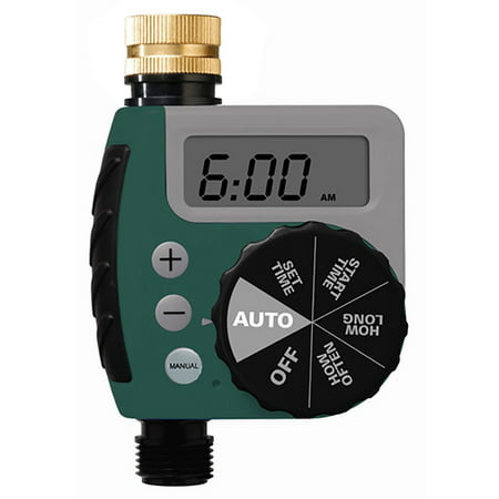 Dial Sprinkler (Orbit 62056 One Dial Garden Hose Faucet Automatic Watering Timer Water Control )