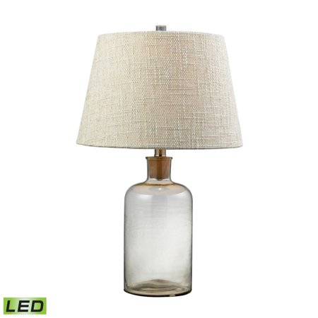 Clear Glass Bottle LED Table Lamp With Cork Neck - image 1 of 1