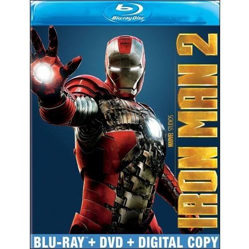 Iron Man 2 (Blu-ray + DVD + Digital Copy) (Widescreen)