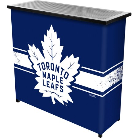 NHL Portable Bar with Carrying Case, Toronto Maple Leafs by