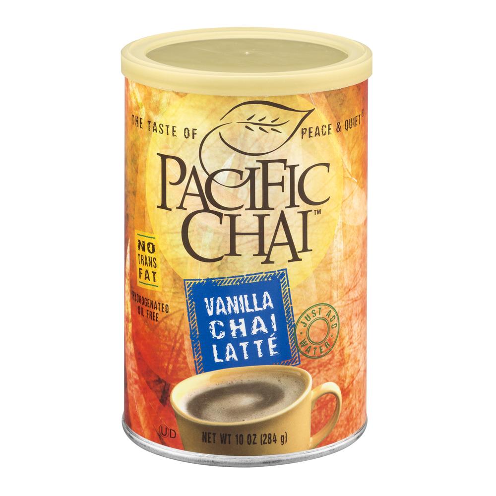 Pacific Chai Tea Latte Mix Vanilla Chai Latte, 10.0 OZ