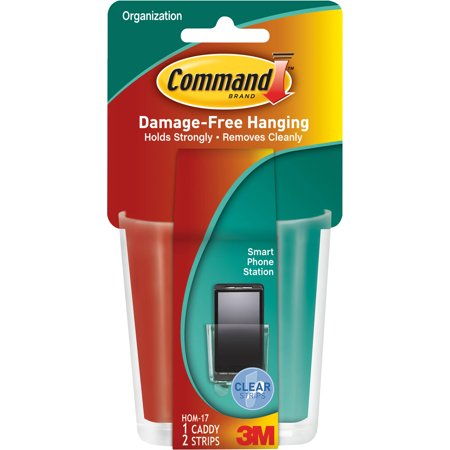 Command™ Clear Smart Phone Caddy, 1 Caddy/Pack