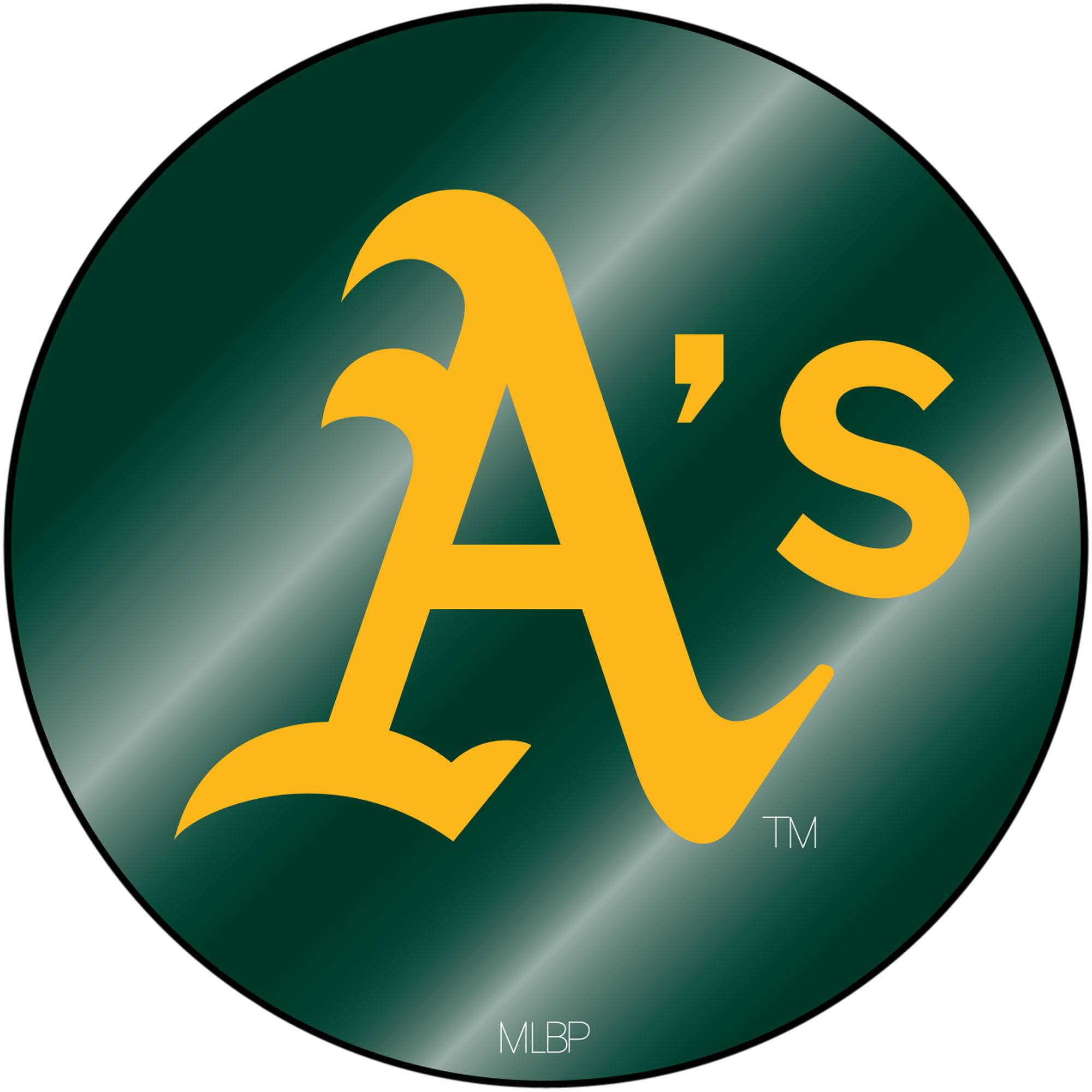 Oakland Athletics Sparo Laser Discus Decal - No Size
