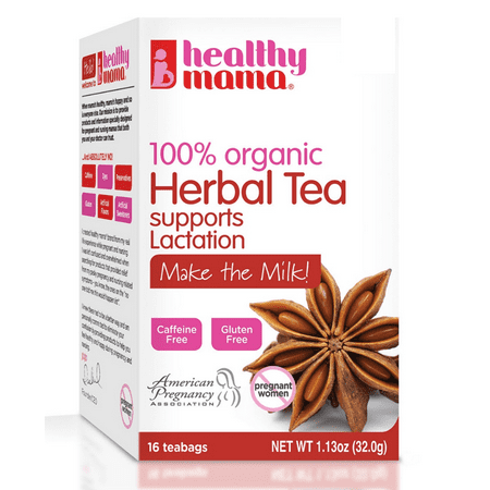 Healthy Mama Make the Milk! 100% Organic Tea to Support Healthy Breastfeeding and Milk Production, 16 (Best Tea For Breastfeeding)