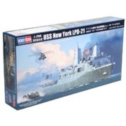 Hobby Boss USS New York LPD-21 Assembly Kit Multi-Colored