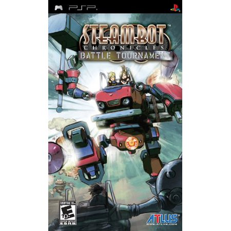 Atlus Steambot Chronicles Battle Tournament Role Playing Game   Complete Product   Standard   1 User   Retail   Psp  Pspatl60010
