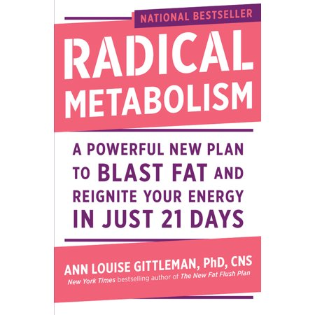 Radical Metabolism : A Powerful New Plan to Blast Fat and Reignite Your Energy in Just 21 (Best Pills To Speed Up Your Metabolism)