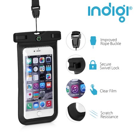 Beach Vacation Must Have! - Sand/Waterproof Case for Phones [Keep valuables & SmartPhone Safe Dry] - image 1 of 4