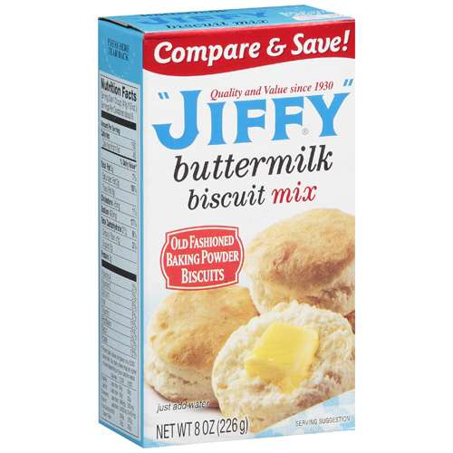 Jiffy: Buttermilk Biscuit Mix, 8 Oz