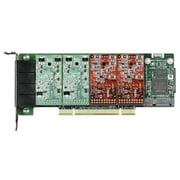 Digium 4 Port Modular Analog PCI 3.3/5.0V Card, No Interfaces 1A4A00F