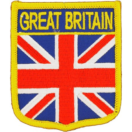- Great Britain Shield Patch 2 1/2