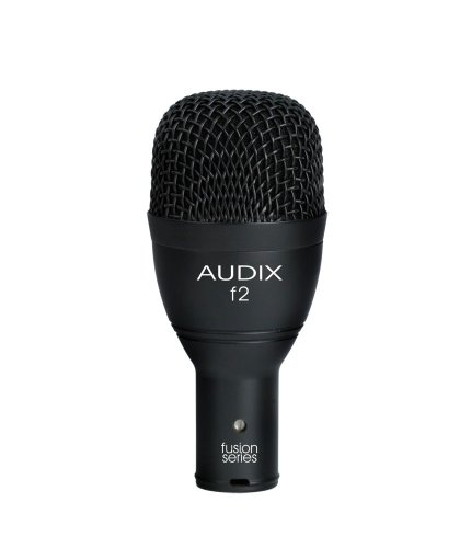 Audix F2 Instrument Dynamic Microphone, Hyper-Cardioid by Audix