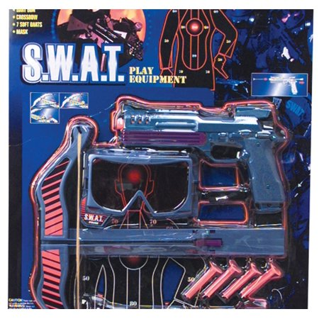 4 PC SWAT CROSSBOW AND DART SET, Case of 12 thumbnail