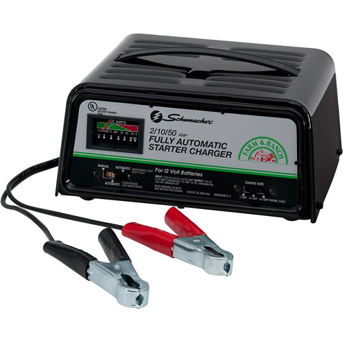 Schumacher 50/10/2 Amp Fully Automatic/Manual Starter/Charger