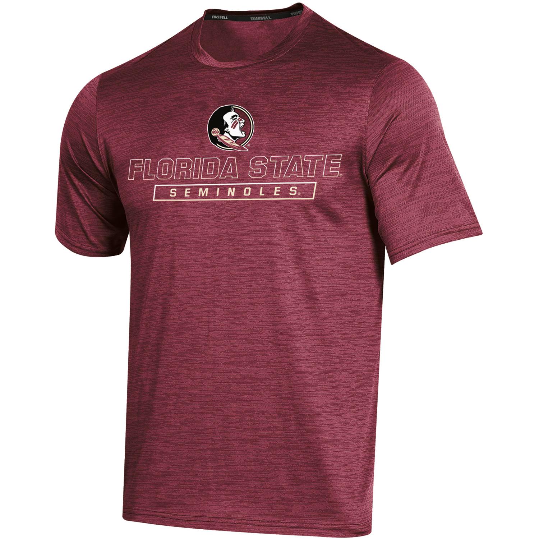 Men's Russell Garnet Florida State Seminoles Synthetic Impact T-Shirt