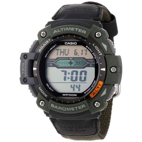 Altimeter, Barometer, and Thermometer Watch