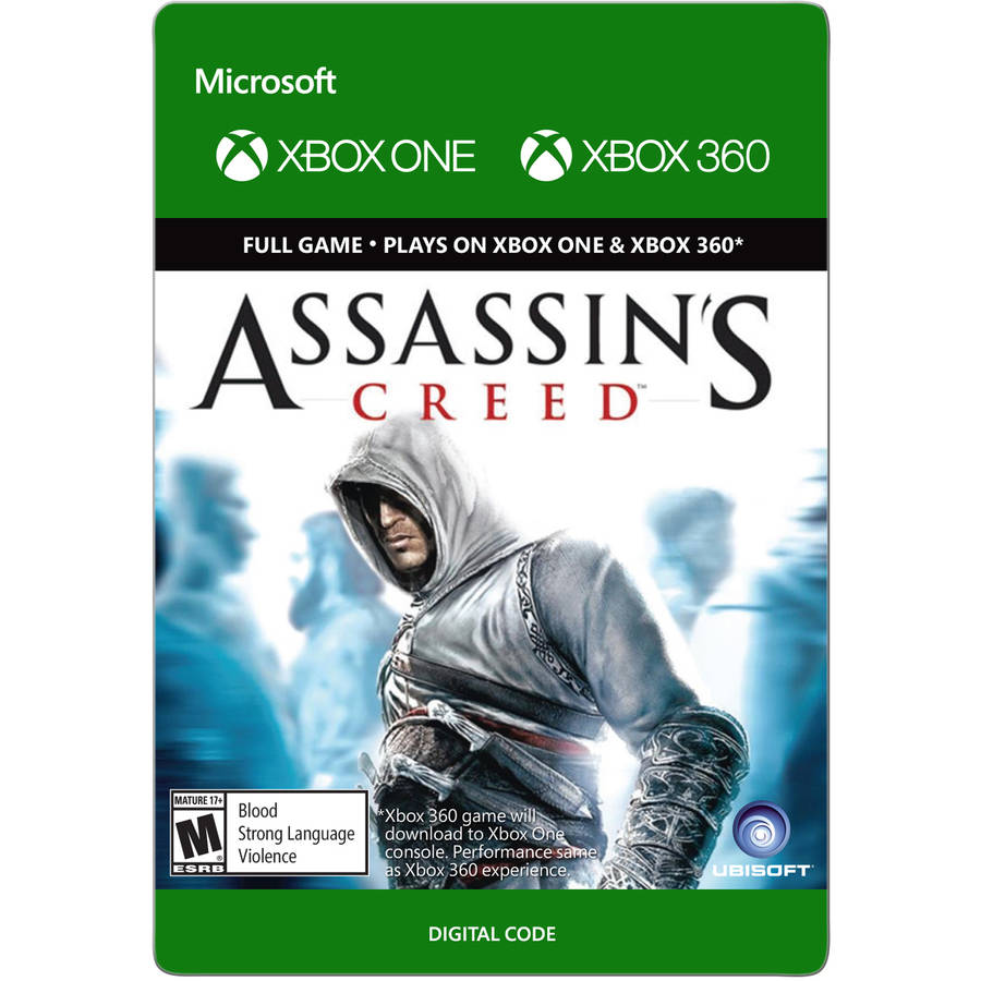 Xbox 360 Assassin's Creed (email delivery)