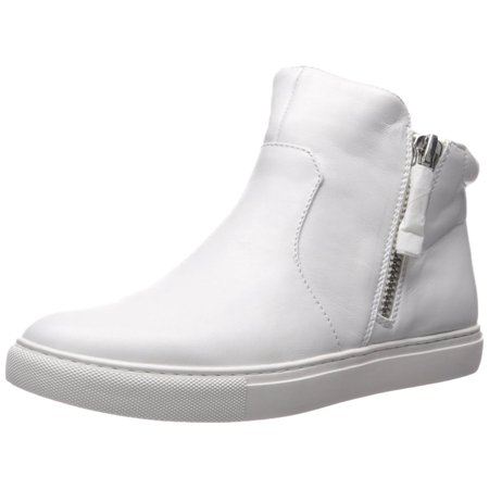 Kenneth Cole New York Womens kiera Leather Hight Top Zipper Fashion Sneakers