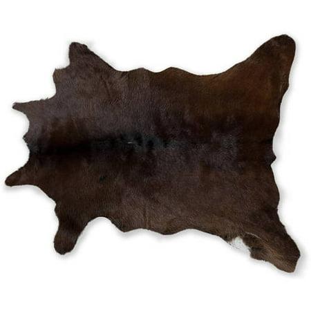 Natural Calfskin Rug, 2' x 3'