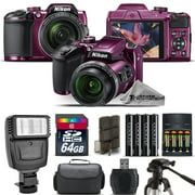 Best Cameras - Nikon COOLPIX B500 Plum Camera 40x Optical Zoom Review