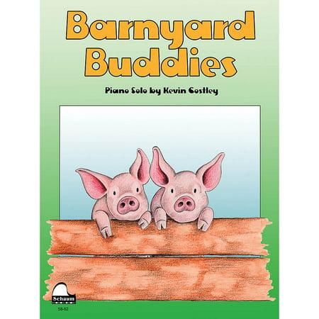 SCHAUM Barnyard Buddies Educational Piano Series Softcover (Barnyard Buddies)